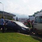 Belediye Başkanı Subaşıoğlu'nun eşi ve çocukları kaza geçirdi