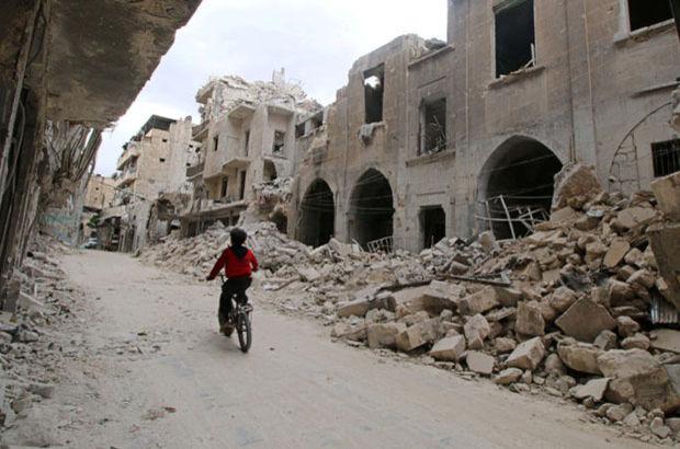 Esad rejimi yine Halep'i vurdu: 8 ölü