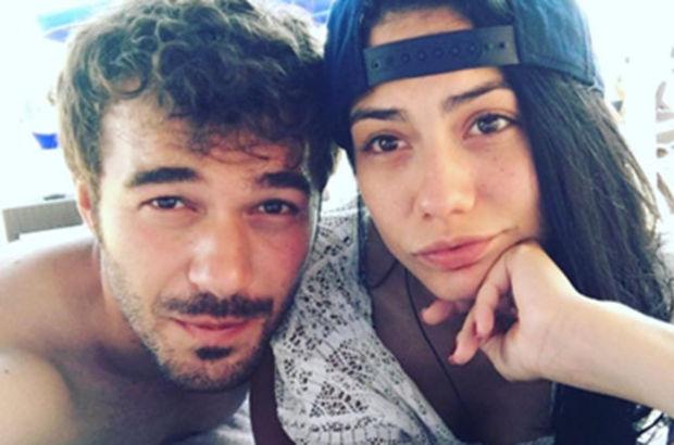 Demet Özdemir-Yusuf Çim çiftinden aşk pozları