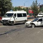 Diyarbakır'da trafik kazası 11 yaralı