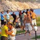 Fethiye'de yamaç paraşütü pilotlarının müşteri kavgası