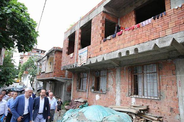 Ordu'da şehidin evini Büyükşehir Belediyesi tamamlayacak