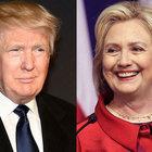 Hillary Clinton, Donald Trump'ın 8 puan önünde