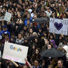 """Londra'da """"Brexit"""" protestosu"""