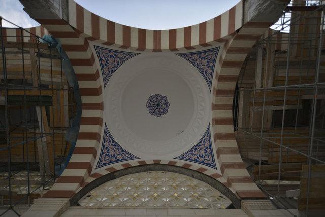 Çamlıca Camii'nin içinden ilk görüntüler