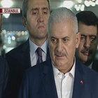 Başbakan Binali Yıldırım'dan Atatürk Havalimanı'nda açıklama