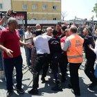 Bakırköy Dr. Sadi Konuk Eğitim ve Araştırma Hastanesi önünde kavga