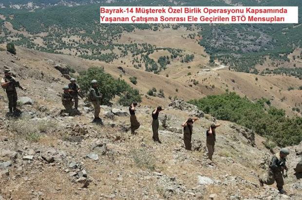 Lice'de 6 PKK'lı yakalandı