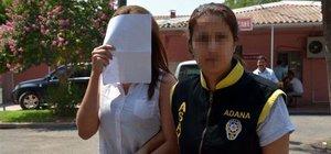 Adana'da 2 çocuk annesine fuhuştan gözaltı