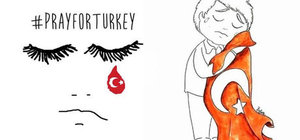Terör saldırısı sonrası Türkiye'ye dünyadan destek yağıyor
