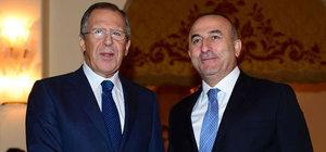 Lavrov, Suriye kriziyle ilgili Türkiye'yle işbirliği mesajı verdi