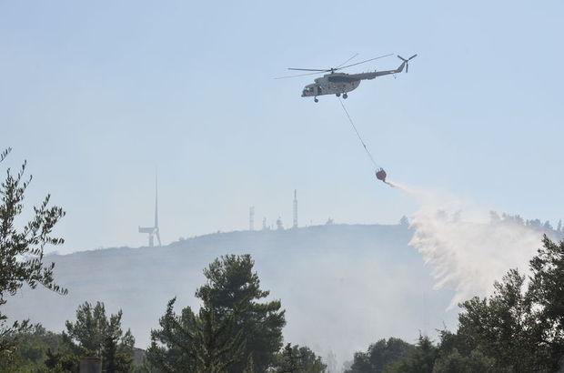 Çeşme Yarımadası'nda üç yangın