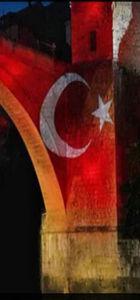 Türkiye'nin acısı Mostar'a yansıdı