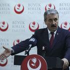 Mustafa Destici'den Yazıcıoğlu kararına tepki: Yargıya güvenimiz sıfıra indi