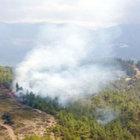 Kaş ve Alanya'da korkutan orman yangını