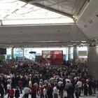 Atatürk Havalimanı çalışanları için tören düzenlendi