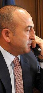 Mevlüt Çavuşoğlu, Kerry ve Ayrault ile görüştü