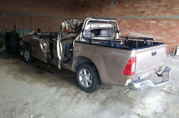 Çorum'da kamyonet park halindeki TIR'a çarptı: 2 ölü, 3 yaralı