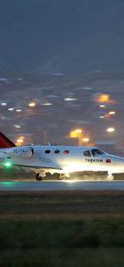 Selahaddin Eyyubi Havalimanı'nda deneme uçuşu