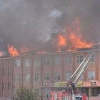 Akhisar'da bir okulda yangın çıktı