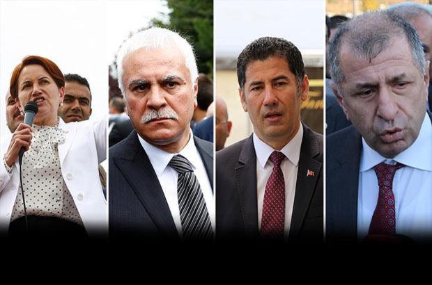 MHP Sinan Oğan Koray Aydın Meral Akşener Ümit Özdağ