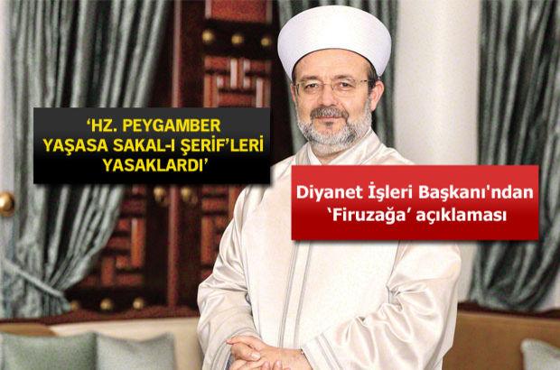 Diyanet İşleri Başkanı Prof. Mehmet Görmez