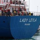 Lady Leyla İsrail'e ulaştı
