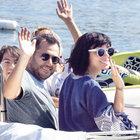 Gülşen ile Ozan Çolakoğlu tekne turunda
