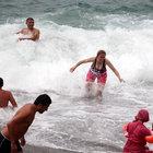 Zonguldak'ta, 'Dalga var, denize girmeyin' uyarısı