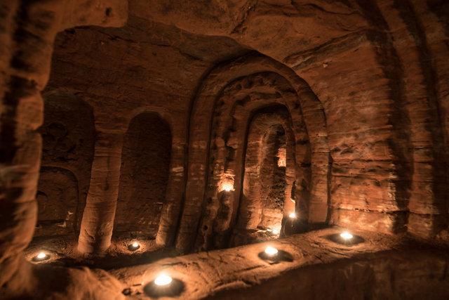 Yer altından çıkan ilginç mağaralar, yer altı şehirleri...
