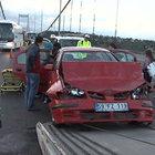 FSM'de zincirleme kaza: 2 yaralı