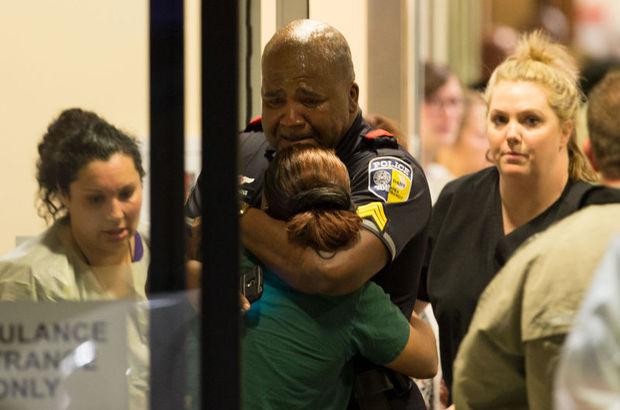 """ABD'de polise """"sniper""""lı saldırı, 5 polis öldü"""