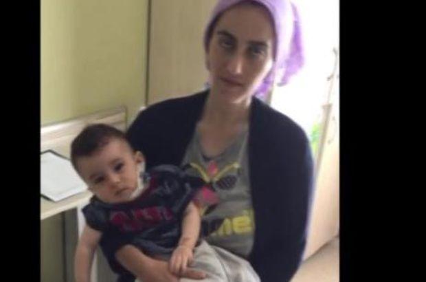 Ahmet bebek annesine kavuştu
