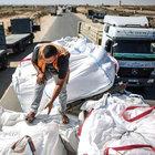 Türkiye'den yollanan yardım malzemeleri Gazze'ye ulaştı