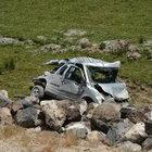Bitlis'te düğün konvoyu kaza yaptı! 1 ölü, 21 yaralı