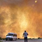 Bodrum'da makilik alanda yangın