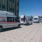 Adıyaman'da AVM inşaatında göçük: 8 işçi yaralı