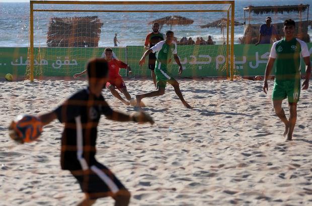 Gazze plaj futbolu