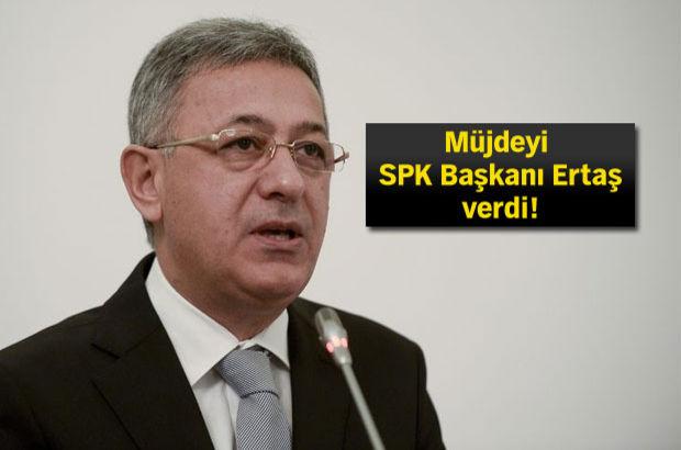 SPK Başkanı Vahdettin Ertaş