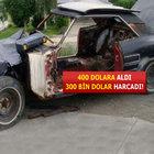 400 dolara aldığı otomobili için 300 bin dolar harcadı