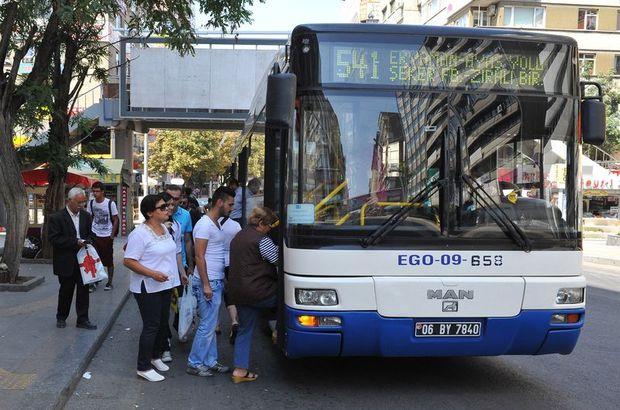 Ankara'da toplu taşıma ücretlerine itiraza ret!