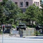Genelkurmay bahçesinden çıkan tank ateş açtı