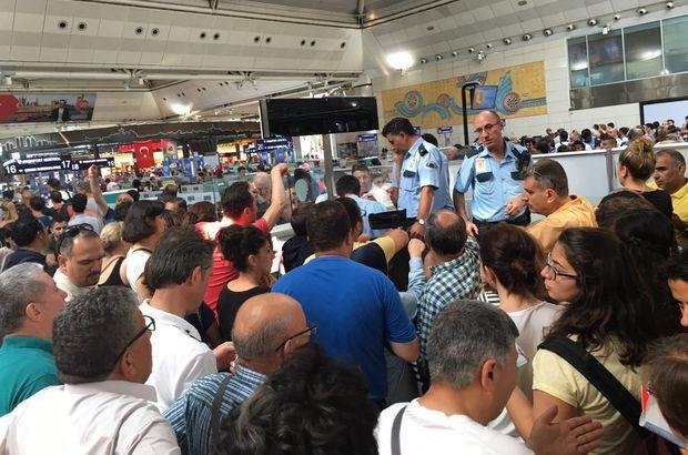 Atatürk Havalimanı darbe girişimi