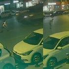 Üsküdar'da tankın önüne iki kez yatan vatandaş