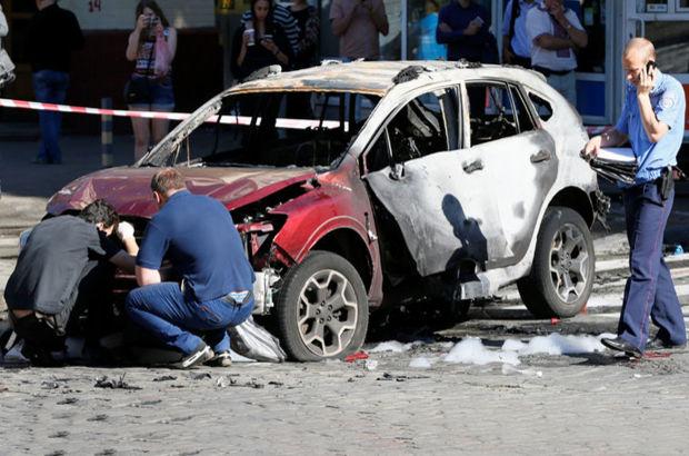Ukraynalı gazeteci arabasına yerleştirilen bomba sonucu öldü