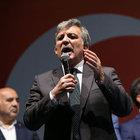 Abdullah Gül Kısıklı'da vatandaşlara seslendi