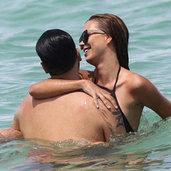 Miami'de aşk tazelediler