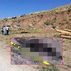 Erciş'te yol kenarında yanmış ceset bulundu