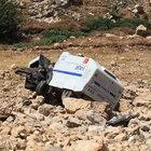 Mardin'de polis aracı devrildi: 2 yaralı