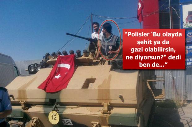 Malatya'da polislerin el koyduğu ZPT'leri vatandaş Mustafa Özbey kullandı